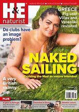 H&E naturist November 2017 magazine nudist health efficiency