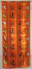 TERRIART Orange, Yellow Halloween Images 58x12 Long Scarf-Vintage
