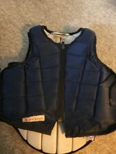 2010 Navy Racesafe Body Protector Size Childs Med.