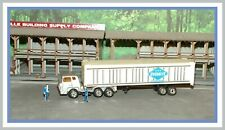 Unknown Maker _ Ho Scale _ Overnight Transportation _ Tractor Trailer