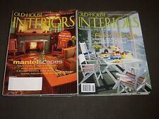 2000'S OLD HOUSE INTERIORS MAGAZINE LOT OF 16 - NICE COVERS & PHOTOS - R 96