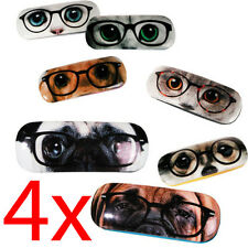 4 X DOGS CATS GLASSES SPECTACLES CASE HARD STORAGE PROTECTION BOX EYE HOLDER SUN