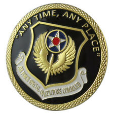 "USAF Air Force Special Operations Command ""Any Time, Any Place"" GP coin 1082#"