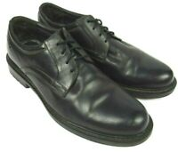 Johnston & Murphy Mens Black Lace Up Shoe Casual Oxford 9.5 M 20-0365 Leather