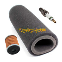 Tune Up Kit Air Filter Oil Filter Spark Plug For Yamaha Warrior 350 YFM350X