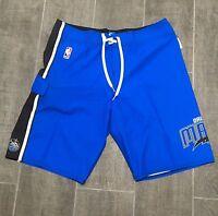 Quiksilver NBA Orlando Magic Blue Board Shorts Swim Trunks Mens Size 34