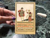 CARTOLINA FESTA NAZIONALE DELLA DANTE ALIGHIERI PRO SCHOLA TORINO 1913 66