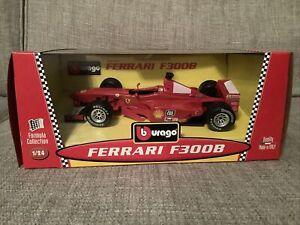 Bburago 6503 Ferrari F300B - F1 Car - 1:24 - Mint Unopened Box