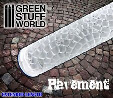 Rolling Pin - PAVEMENT Texture - Create your own bases - Warhammer Infinity AOS