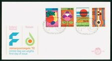 Mayfairstamps Netherlands FDC 1972 Holland Festival Zomerpostzegels First Day Co