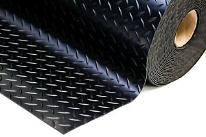 5MM THICK HEAVY DUTY RUBBER GARAGE FLOORING MATTING DURABLE FREE DELIVERY 1 2 3M