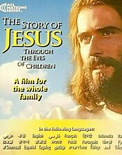 LOT OF 5 NEW THE STORY OF JESUS Through the Eyes of Children [CHRISTIAN DVDS]