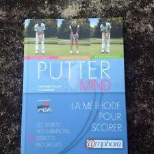 Putter Mind, Golf, la methode pour scorer,  livre NEUF