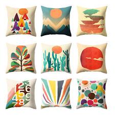 Multi-Color Cartoon Cactus Pillow Case Sofa Waist Cushion Cover Home Decor Novel