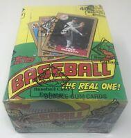 1987 TOPPS MLB Baseball Unopened Sealed HOBBY Trading Card BOX 36 Wax PACKS BBCE