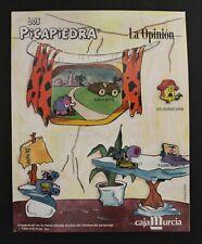 1994 Hanna Barbera THE FLINTSTONES 6 x PINS COLLECTION newspaper promo Spain #2