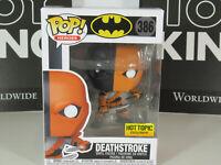 Funko DC Comics Batman Pop! Heroes Deathstroke #386 Hot Topic Exclusive