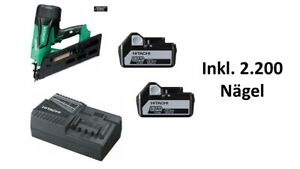 HITACHI Akku-Streifen-Nagler 18V 2.200Nägel 90mm Brushless NR1890DBCL 5.0Ah 34°