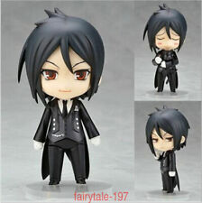 Nendoroid 68 Anime Black Butler Sebastian Michaelis PVC Figure Toy Gift IN  Box