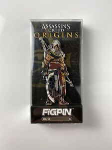 Assassin's Creed Origins Figpin Gamestop Exclusive Bayek Figure Metal Pin
