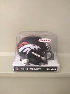 Riddell Peyton Manning 2021 Hall Of Fame Induction Speed Mini Helmet Denver