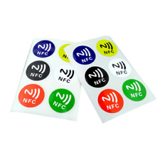 NEW Smart NFC Tags Stickers NTAG203 for Samsung Galaxy S5 S4 Note 3 Nokia Sony