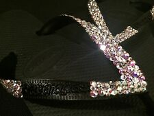 Havaiana Top Flip Flop Sandals Multi Size Swarovski Crystal Custom Wedding Bling