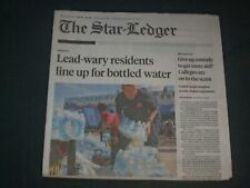 2019 AUGUST 13 THE STAR-LEDGER NEWSPAPER -NEWARK, NJ HIGH LEVEL OF LEAD IN WATER