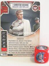 Star Wars Destiny - 1x #003 Direktor Krennic + Würfel - R - Geist der Rebellion