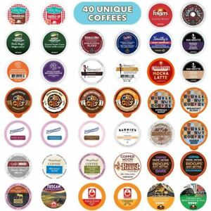 Coffee Pods Variety Pack Sampler, Assorted Single Serve Coffee for Keurig K Cups