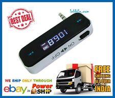 E31 Wireless Music FM Transmitter 3.5mm Rechargeable Battery Hands-free talk