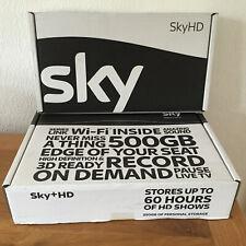 SKY DRX890 WL WIRELESS 500GB BRAND NEW SKY PLUS HD BOX ON DEMAND WIFI MODEL