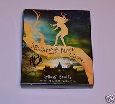 Serafina and the Black Cloak by Robert Beatty SIGNED COMPACT DISCS BILTMORE RARE