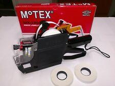 MOTEX MX-2200 PRICE LABELER INCLUDES 3 ROLLS WHITE LABELS FREE SHIPPING