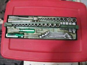 Vintage S-K 48 pc. Combo socket set Wrench Set