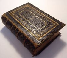 (c1868) Holy Bible, Wesley's Hymns, Sunday School Hymns - Antique Hardback Book