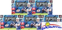 (5) 2016 Panini Playoff Football EXCLUSIVE Factory Sealed Blaster Box-5 Pennants