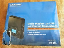 Linksys CM100 100 Mbps Modem with USB and Ethernet Connections (CISCO)