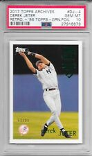 DEREK JETER 2017 Topps Archives GREEN FOIL New York YANKEES Card #DJ-4 PSA 10 96