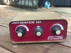 VINTAGE 1960's UNTESTED PARTRIDGE ELECTRONICS JOYMATCH III ANTENNA TUNING UNIT