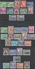 PERU 1938-47 Sc 375-384, 410-418, 426-433 & 438-441 (35x) SETS MINT & USED €154+