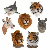Large Wall Mount Hang Animal Head Ornament Decoration Realistic Display Resin