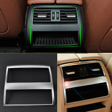Chrome Rear Armrest Box Air Condition Vent Trim Cover For BMW 5 Series F10 F11
