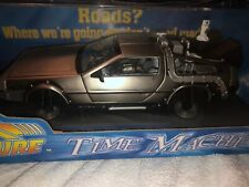 Back To the Future 2 Die Cast Metal Model DeLorean Time Machine 1:18 Scale