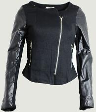 Faux Leather Blazer Petite Coats & Jackets for Women