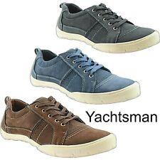 Zapatos de Cubierta yachtman con cordones de Superdry en barco Zapatillas/Sneekers FREEPOST Nuevo Y En Caja