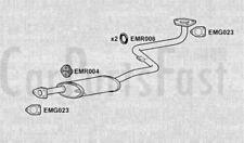 Exhaust Middle Box Mitsubishi Galant 2.0 Petrol Saloon 03/1988 to 12/1992