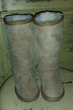 EMU SHEARLING LAMB FUR Kids girl TALL CLASSIC BOOTS STINGER K12001 UK 7 US K/E 8