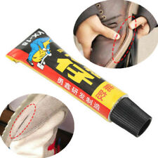 Leather Shoe Super Adhesive Repair Glue new 18ml Rubber Canvas Tube Strong Bond