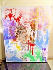 GRAFFITI CANVAS PAINTING BY MUSK YAI ONE OF A KIND 2PAC BIG16X20 2017 READY2HANG